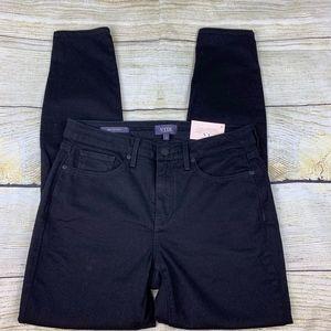 NYDJ Ami Skinny Black Stretch Stretchy Jeans